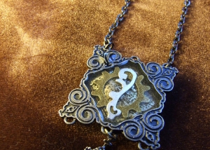 Crown Jewel Steampunk Necklace