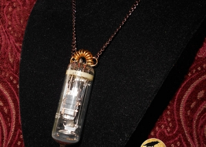 Vacuum Tube Necklace